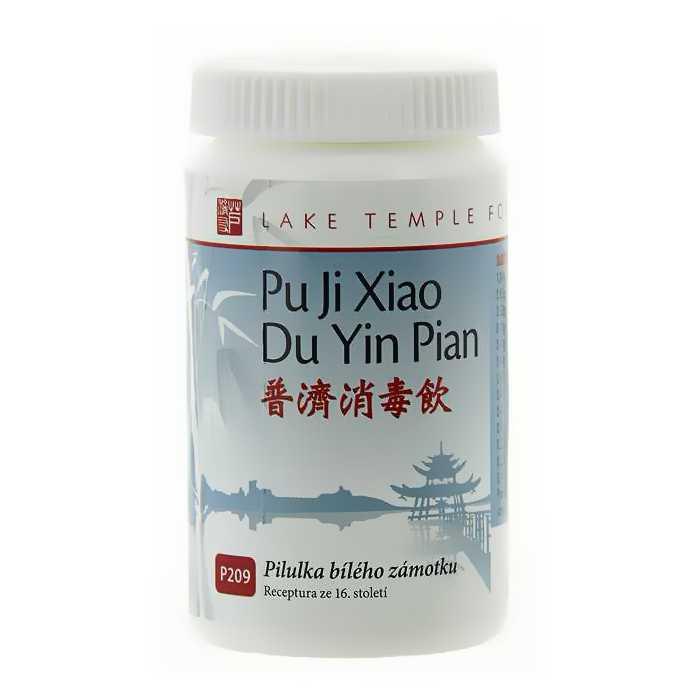 Pilulka bieleho zámotku – PU JI XIAO DU YIN WAN – 209B