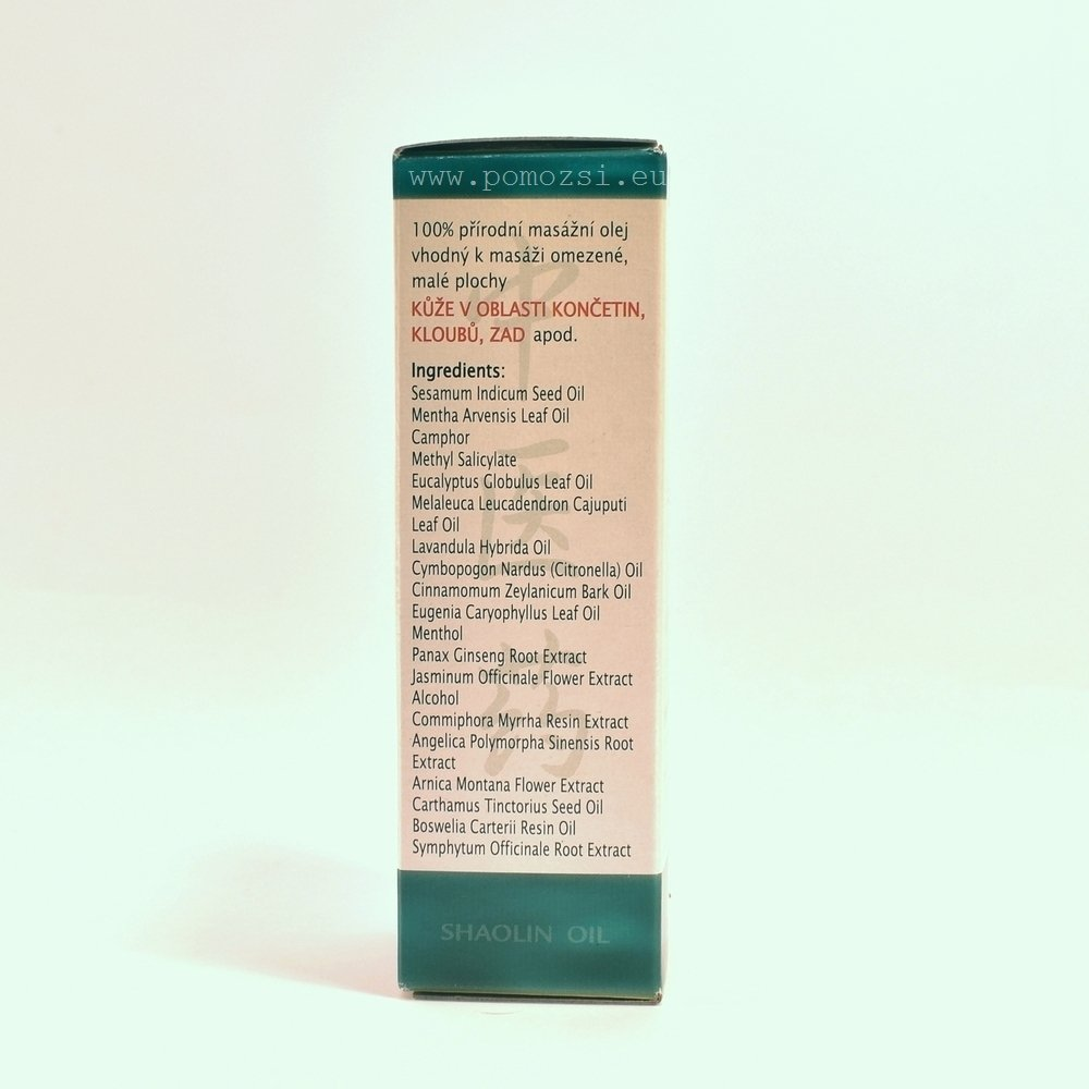 Šaolinský olej