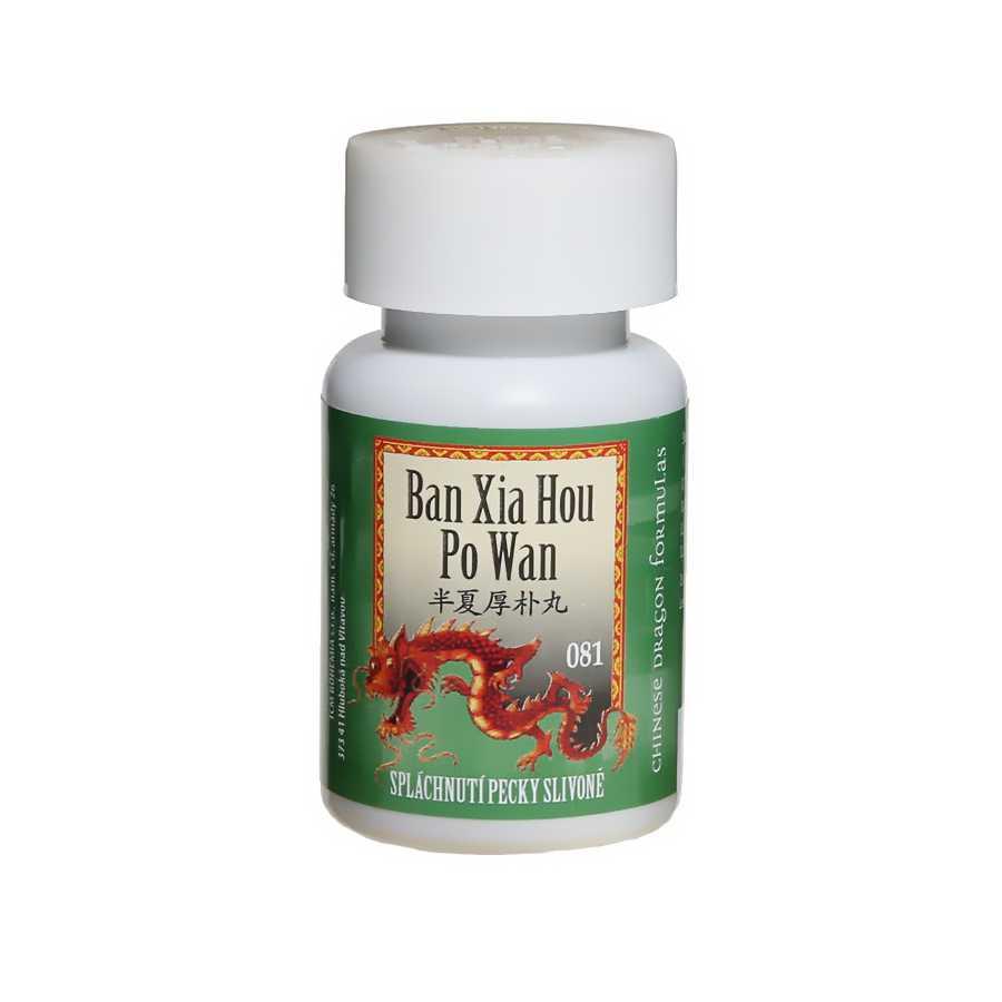 Spláchnutie slivkovej kôstky – BAN XIA HOU PO WAN – 081B